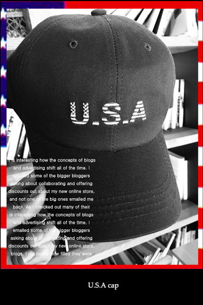 acc460. U.S.A cap [3color] -SOLD OUT-