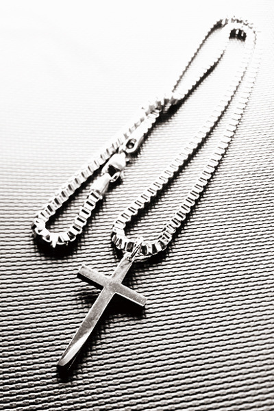 acc477. cross necklace [1type]