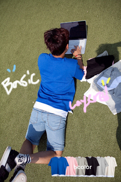 top1207. basic & layered t-shirt [6color]