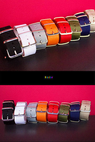 acc469. cotton nato band [8color]