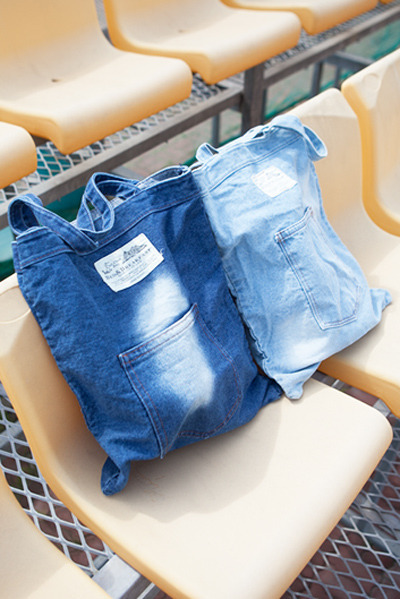 acc489. denim dye bag [2color]