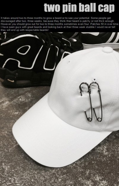 acc837. two pin ball cap [3color]