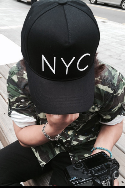 acc859. NYC new york cap [2color]