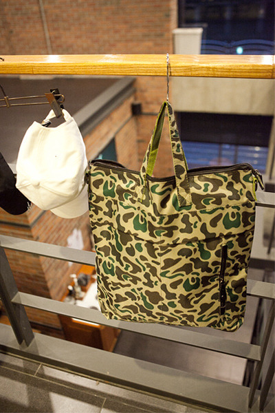 acc891. military line tote bag