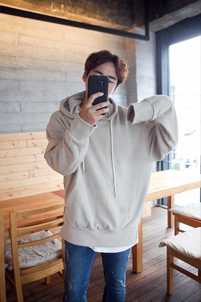 top1426. muji loosefit hood [6color]