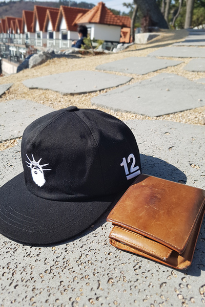 acc1008. crown snapback [2color]