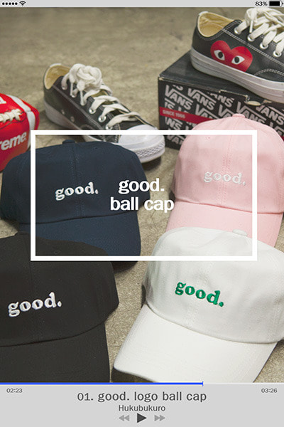 acc1156. good. ball cap [6color]