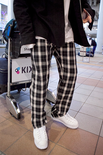 pants1223. brother check pants -당일출발-
