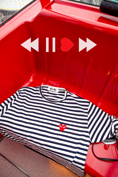 top1984. comme des stripe T [4color][SOLD OUT]