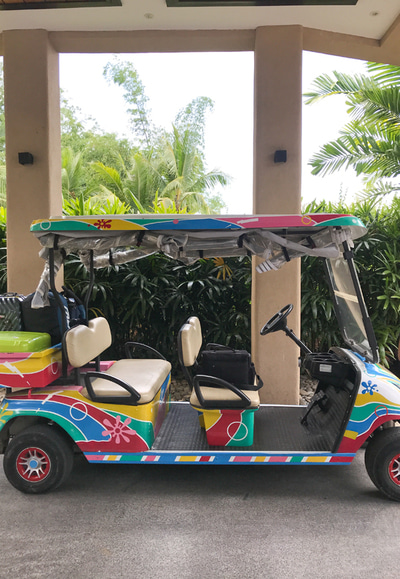 #BOHOL - GOLF CAR