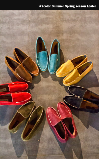 acc271. 7color S/S season loafer [7color] -handmade product-