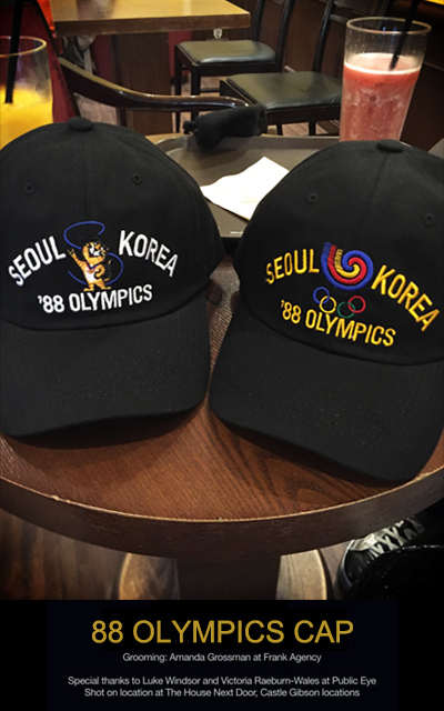 acc372. 88 OLYMPIC CAP [2color]